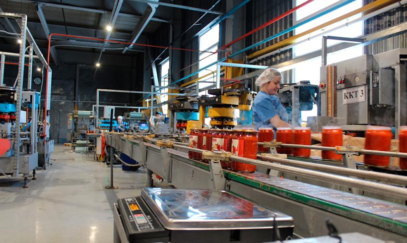 Линия по производству соусов